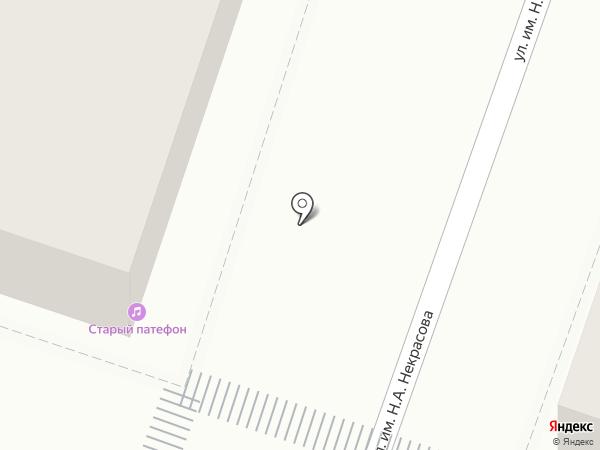 Старый Патефон на карте Саратова