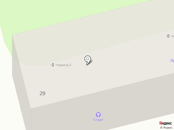 Старт на карте Приволжского