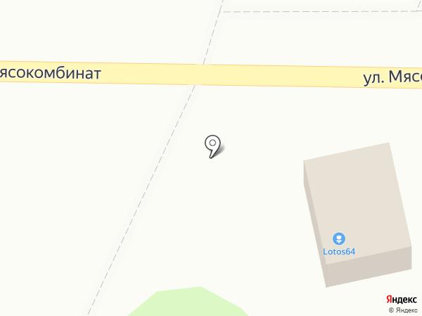 Цветочный магазин на карте Энгельса