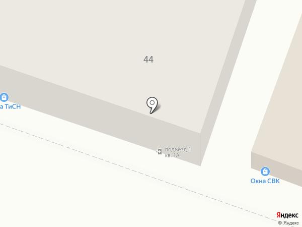 Ортомир на карте Саратова
