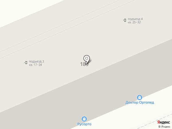 Авиценна на карте Саратова