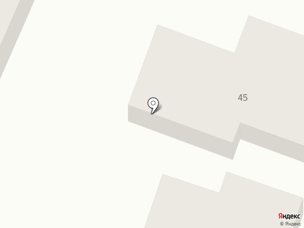 Филиппок на карте Саратова