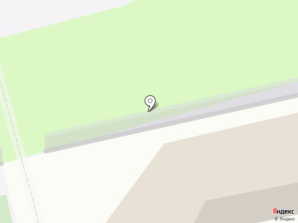 Приволжский на карте Энгельса
