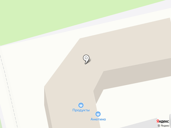 Магазин хлебобулочных изделий на карте Приволжского