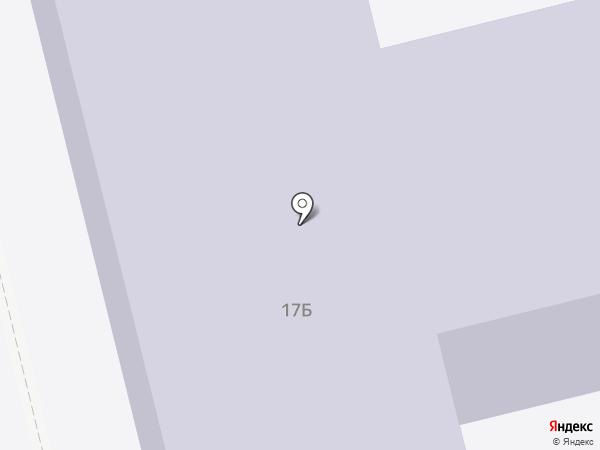 Средняя общеобразовательная школа №21 на карте Энгельса