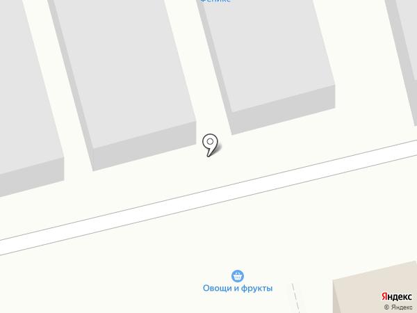 Магазин фруктов и овощей на карте Приволжского