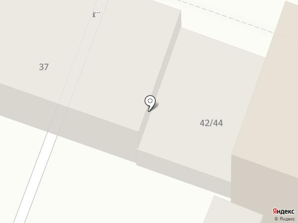 Центральная на Московской на карте Саратова