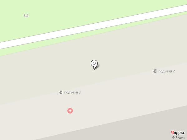 Городская поликлиника №4 на карте Энгельса
