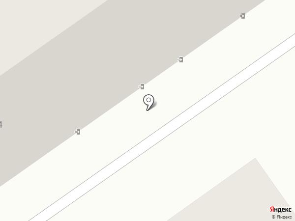 Волжская ЖЭК на карте Саратова