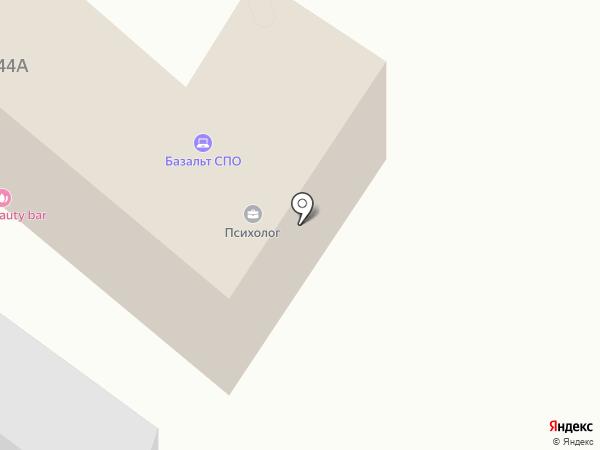 ТД Волжский на карте Саратова