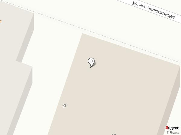 Сириус на карте Саратова