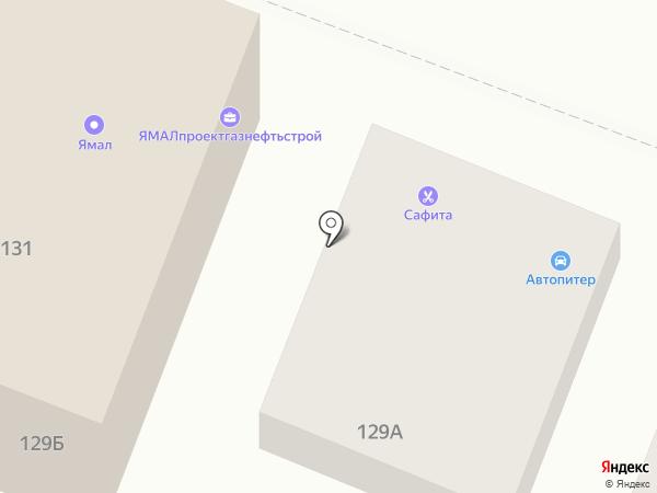 Навигация-сервис на карте Саратова
