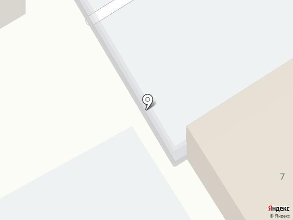 Автостоянка на ул. Григорьева на карте Саратова
