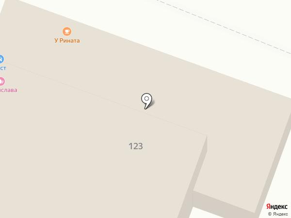 Сар-Тент на карте Саратова