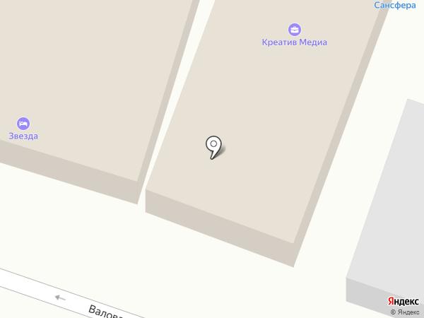 Сансфера на карте Саратова