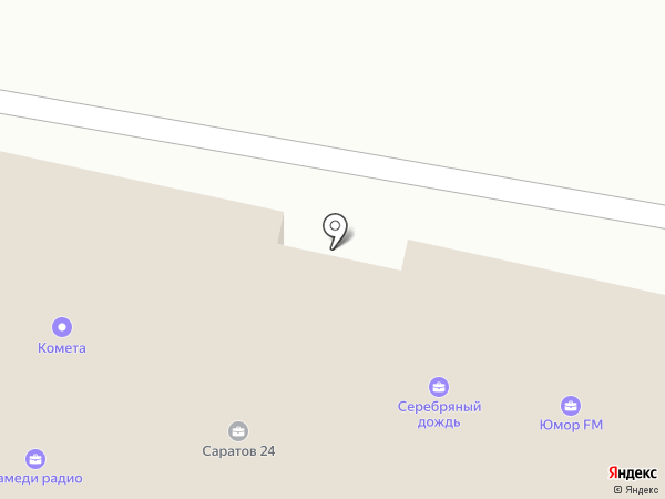 Радио Ваня 89.8 FM на карте Саратова