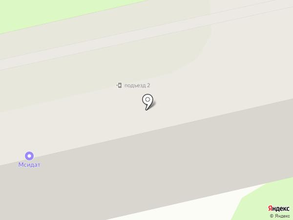 Мсидат на карте Приволжского