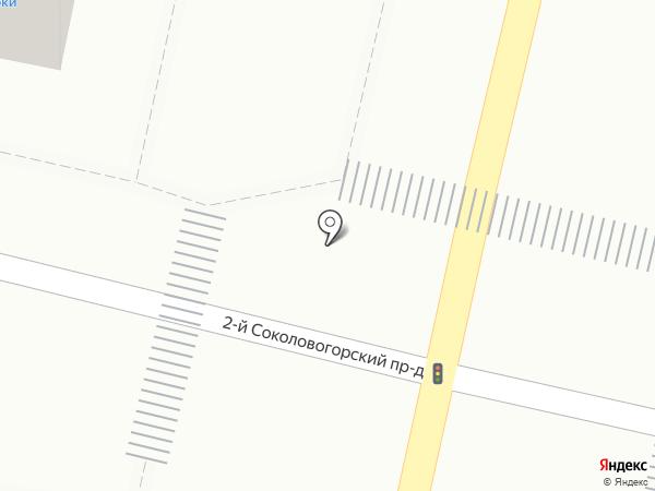 Огонек на карте Саратова