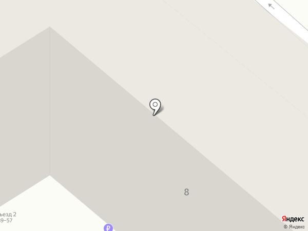 Начало на карте Саратова