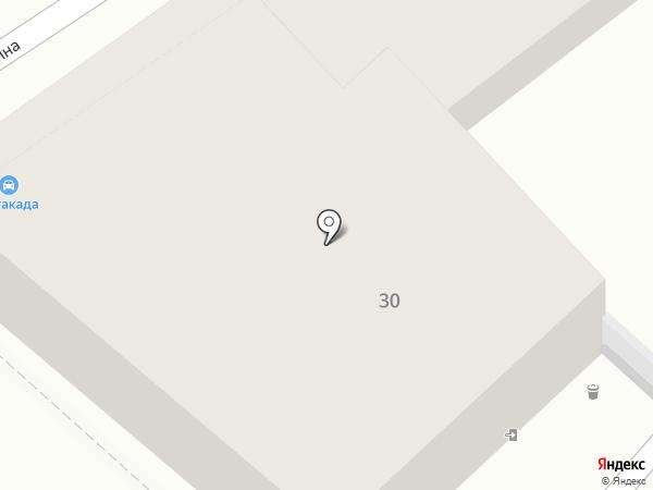 Эстакада на карте Саратова