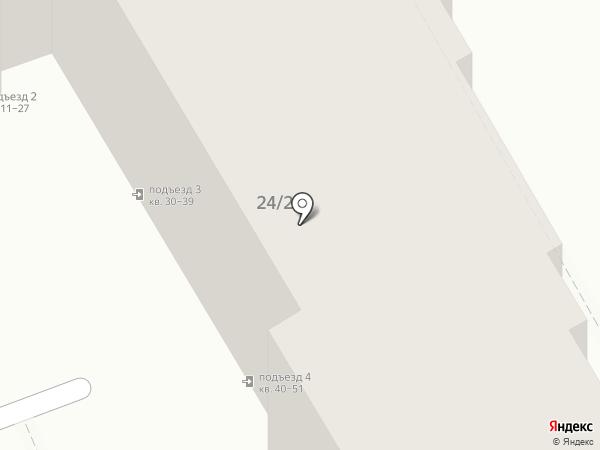 Страж на карте Саратова