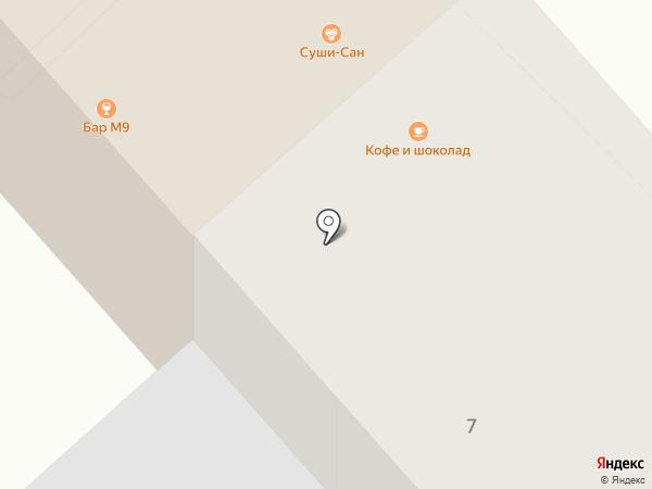 Хинкальная №1 на карте Саратова