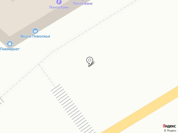 Кружка на карте Саратова