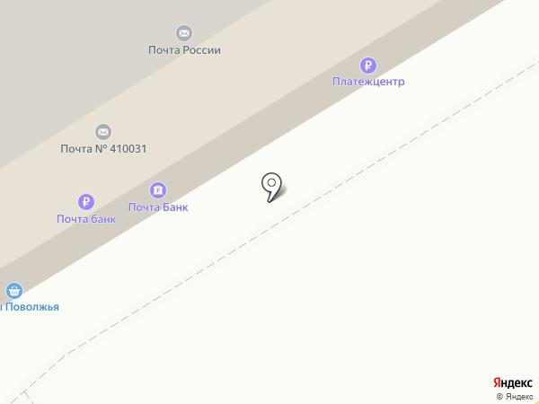 Тамара на карте Саратова