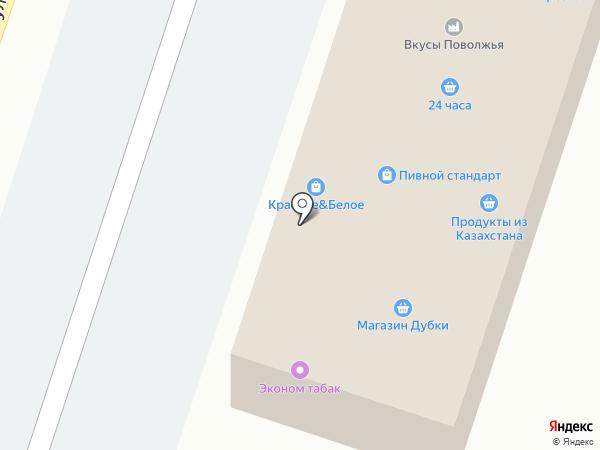 Сокурские хлеба на карте Дубков