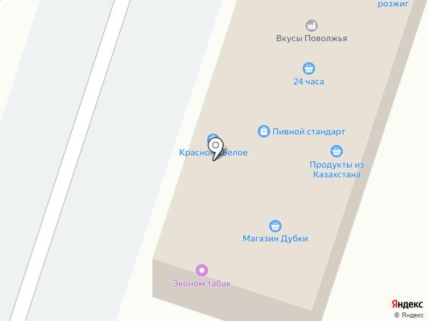 Киоск по продаже хлебобулочных изделий на карте Дубков