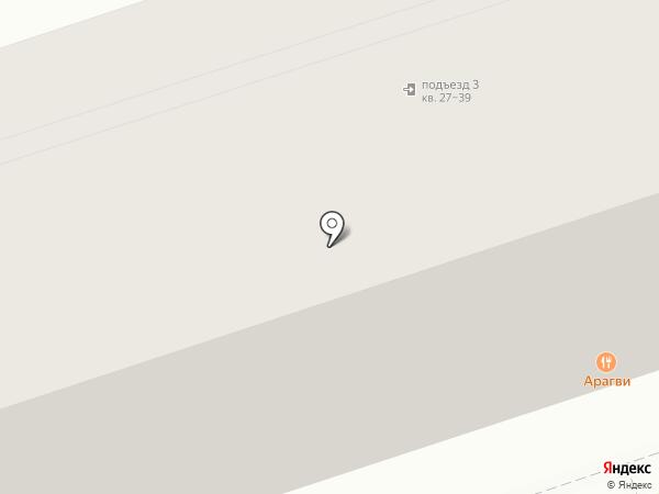 Березка на карте Саратова