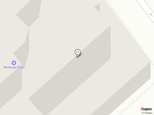 Совфрахт-Приволжск на карте Саратова