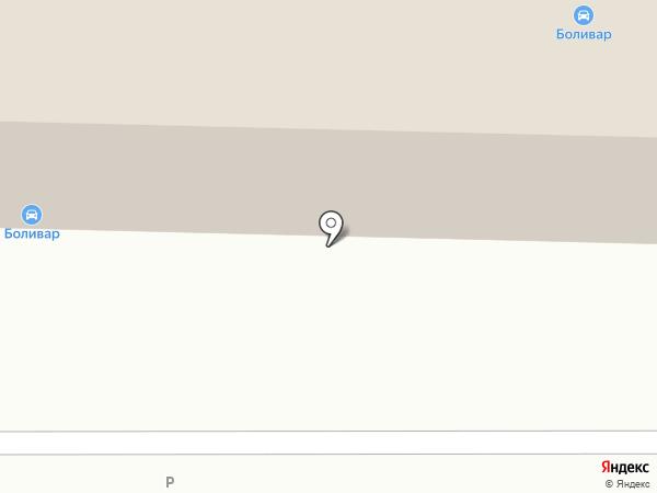 Боливар на карте Саратова