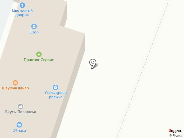 Магазин трикотажных изделий на Центральной на карте Дубков