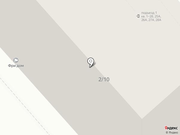 В шаге на карте Саратова