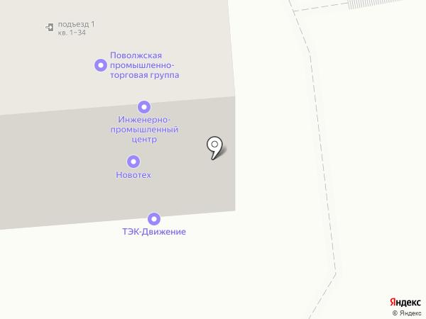 Альтернатива-2007, ТСЖ на карте Саратова