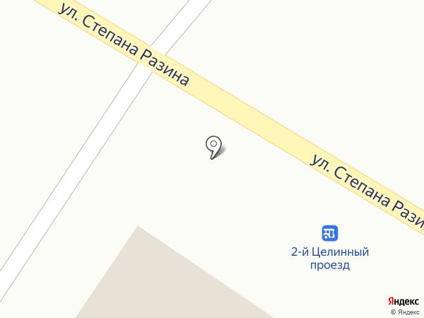 Волга-А на карте Приволжского