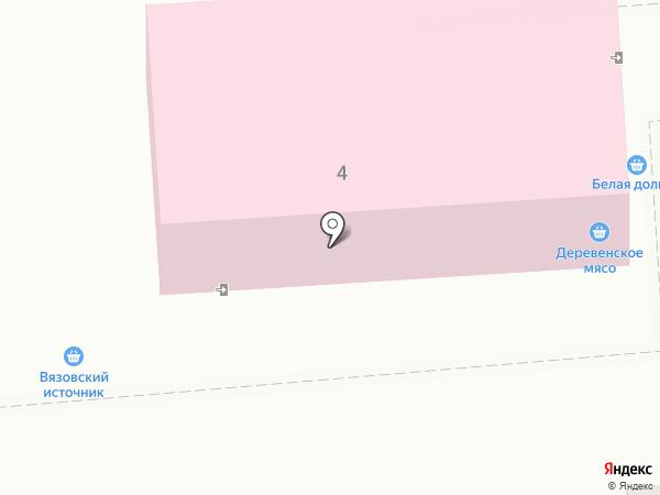 Пышка на карте Саратова