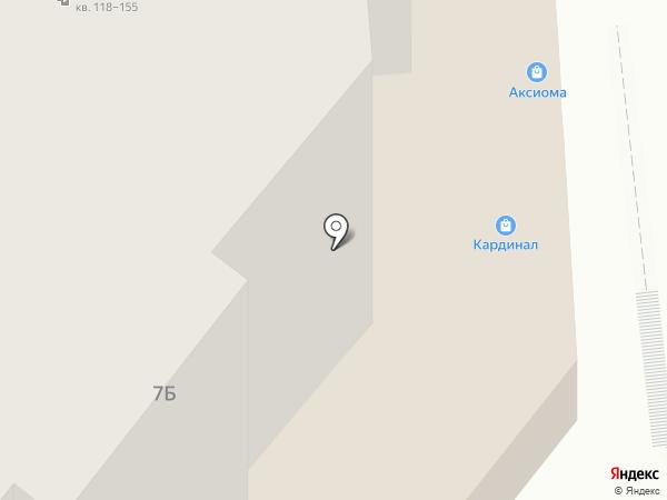 Волшебная ночь на карте Саратова