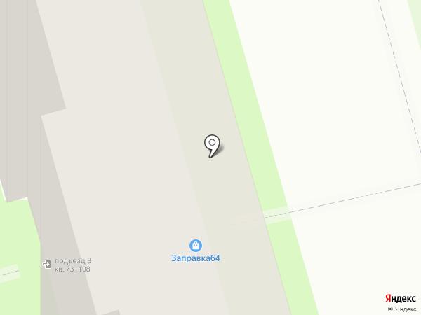 Маняша на карте Саратова