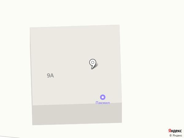 ПАКМИЛ Саратов на карте Саратова