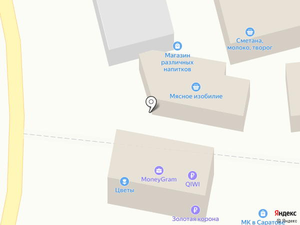 Бистро на карте Саратова