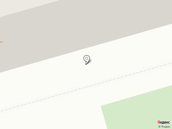 Зеленый угол на карте Саратова