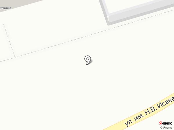 Грация на карте Саратова