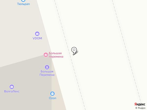 Устрой на карте Саратова