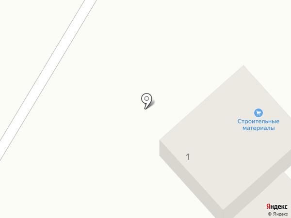 Магазин стройматериалов на карте Энгельса