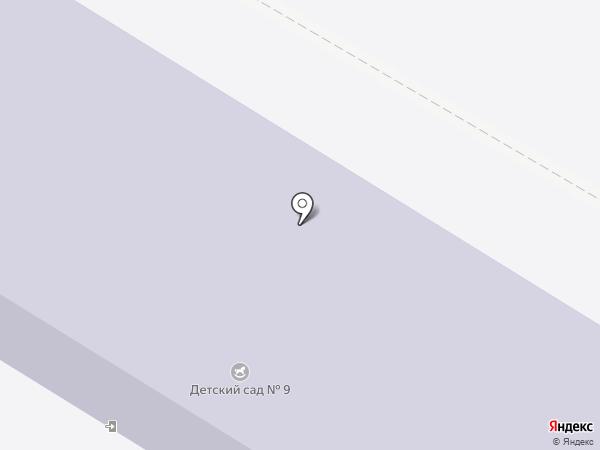 Детский сад №9 на карте Энгельса