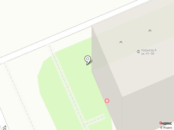 Детская городская поликлиника №1 на карте Энгельса
