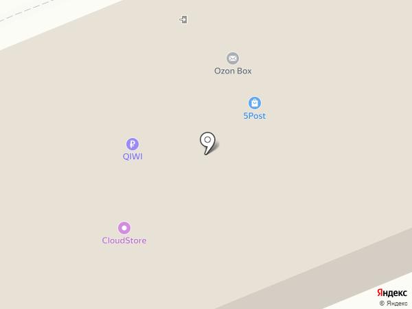 Магнит на карте Энгельса