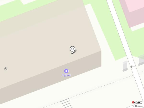 Турал на карте Энгельса